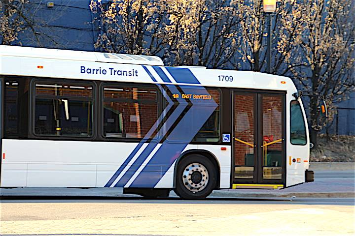 Barrie Transit to implement route changes in August